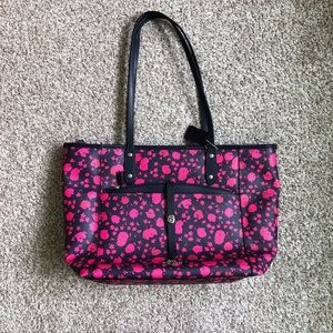 New Coach Calico City Tote with Removable Pouch